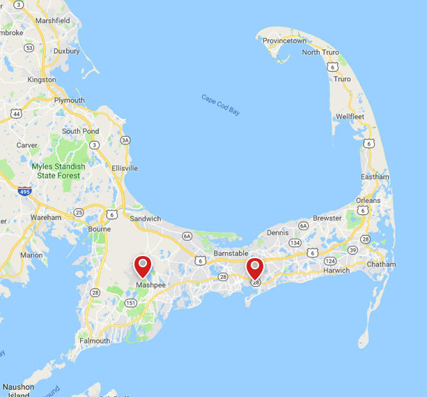 Eastham Cape Cod Map: Cape Cod Septic Services